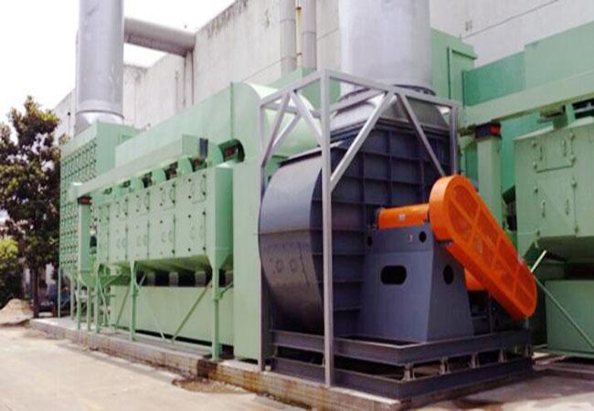 北京涂料厂VOC废气处理催化燃烧应用