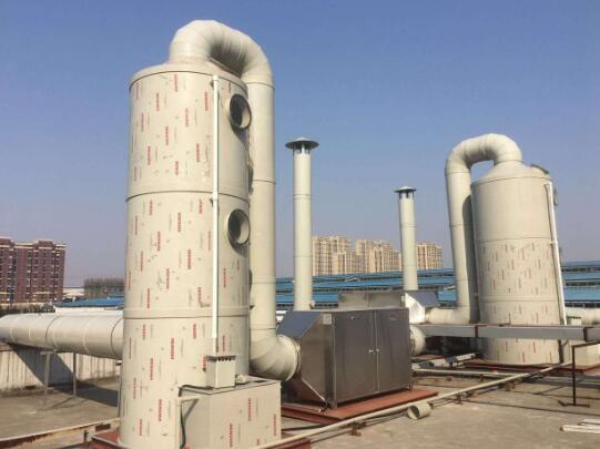 浙江制药厂5W风量废气处理工程案例