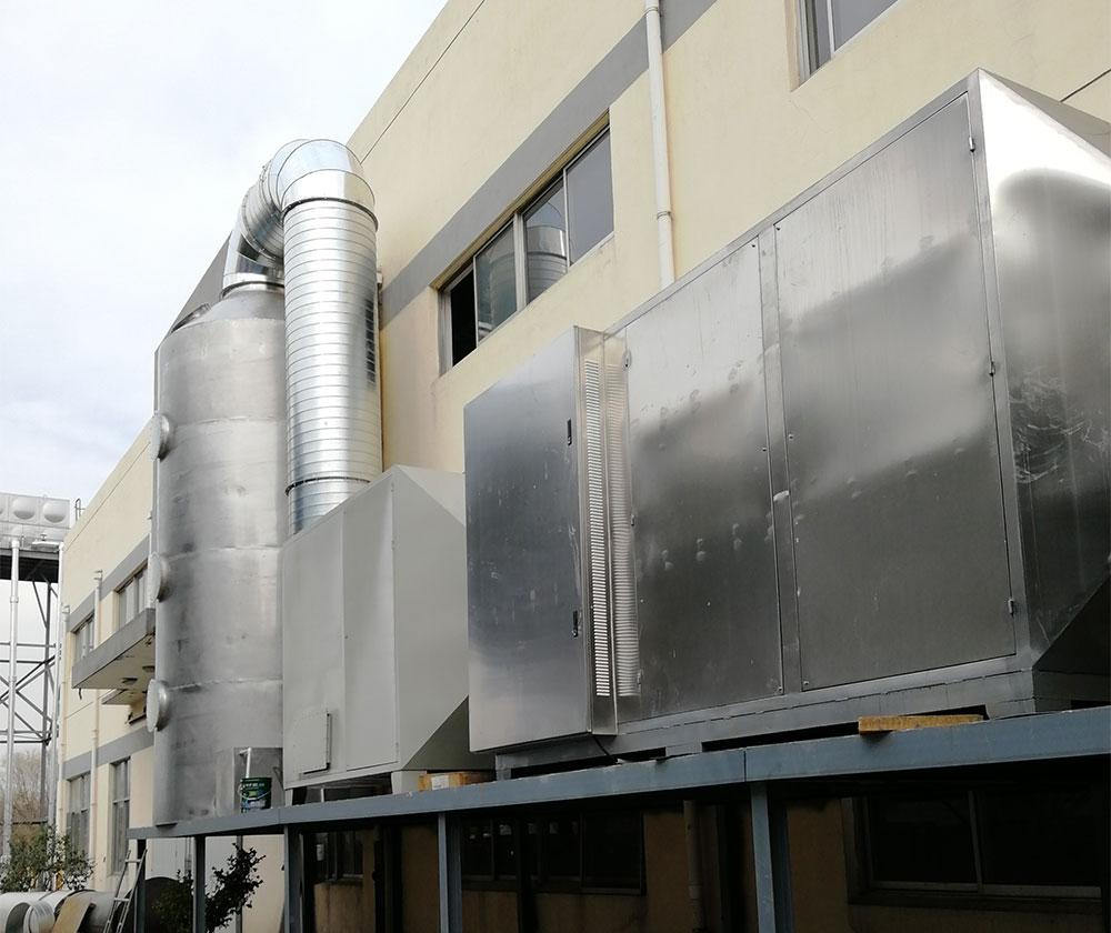 四川一化工企业VOCs废气处理项目案例