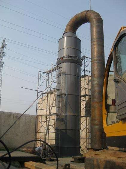 酸雾净化塔废气收集和管路系统