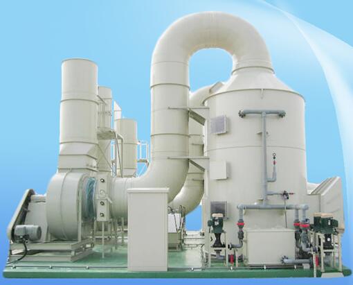 酸雾净化塔废气处理工艺流程