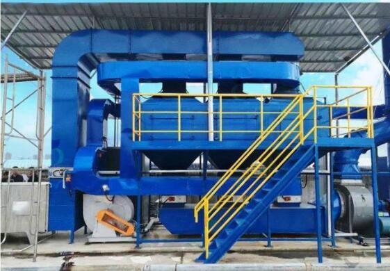 RCO有机废气催化燃烧装置的工艺流程