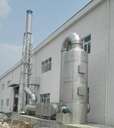 发酵行业生物恶臭废气处理工艺及其设备