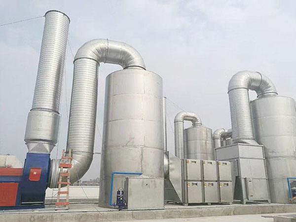 广绿工业废气处理应用范围广泛