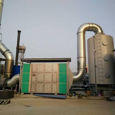 废气处理设备净化系统是由哪些结构组成