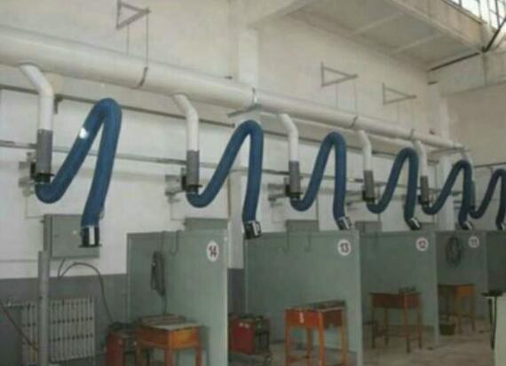 大连多工位焊烟集中除尘案例