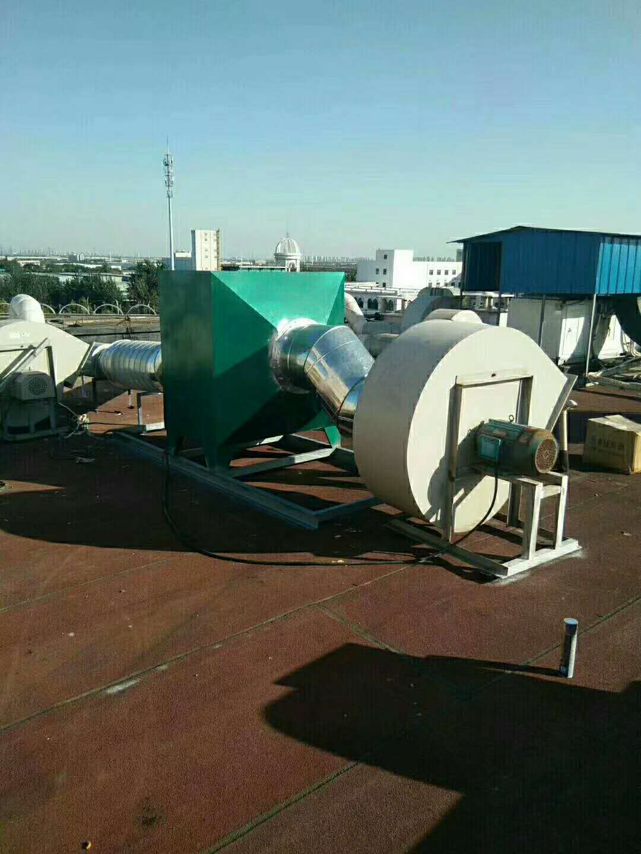山东济南成功安装等离子废气净化装置