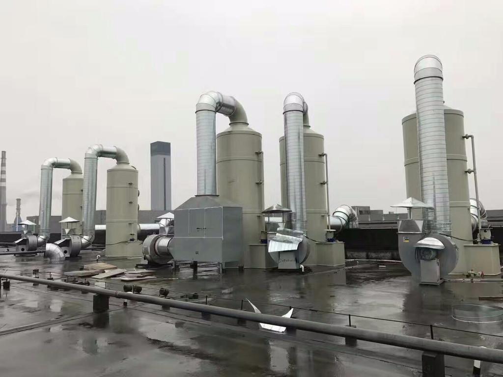 废气处理设备设计四个注意事项