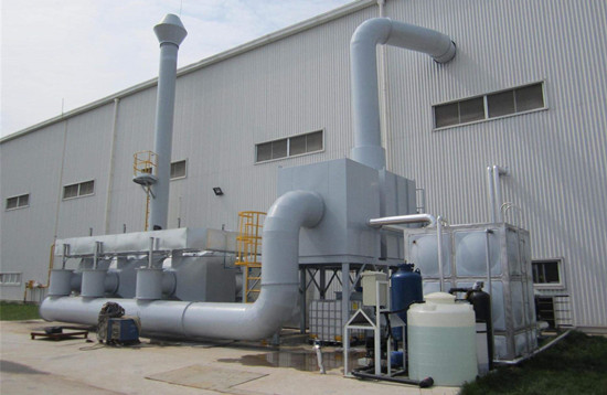 废气处理设备的安装五个步骤
