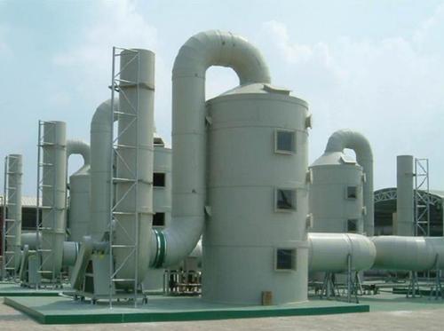浅谈废气净化塔的工作原理以及安装注意事项