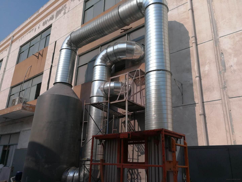辽宁食品厂废气处理案例