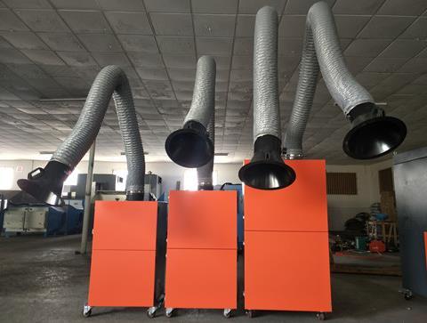移动式焊接烟气净化器除焊烟废气效果好