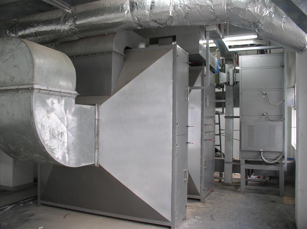 广绿催化燃烧处理输送带厂废气效果好