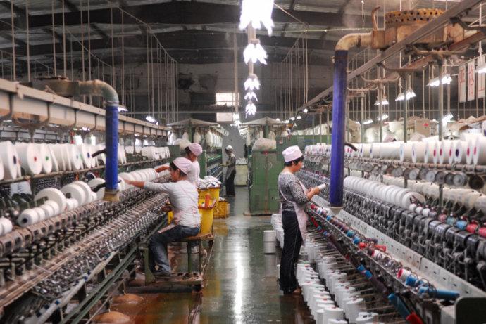纺织厂车间降温工程