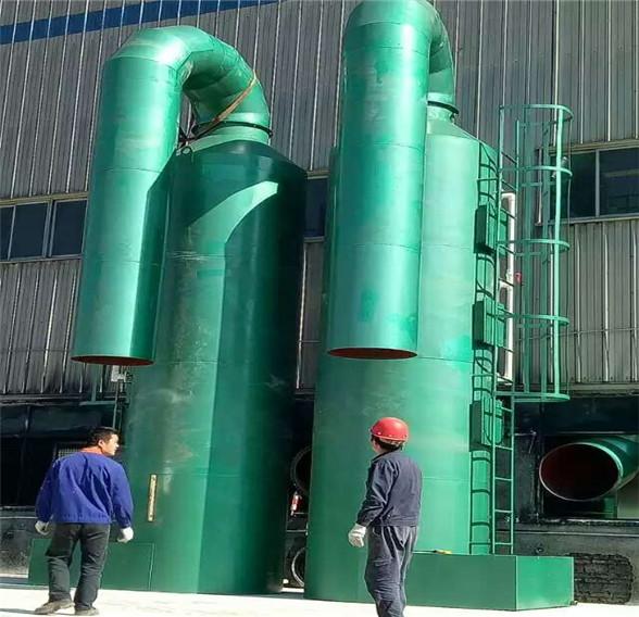 山东酸雾净化塔在电镀厂起到的大作用