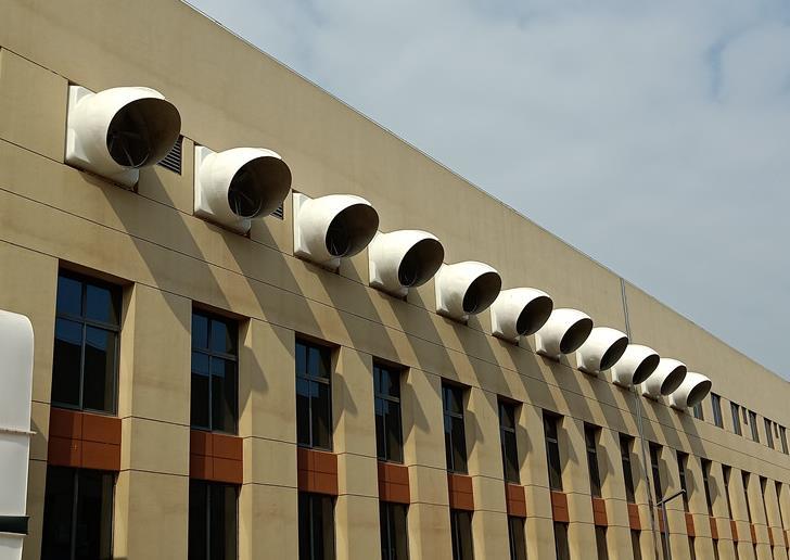厂房降温通风安装水帘风机,企业用了都说好