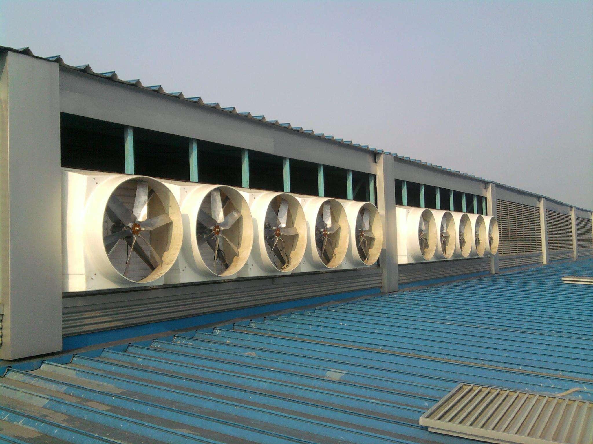 大面积车间降温设备怎么选