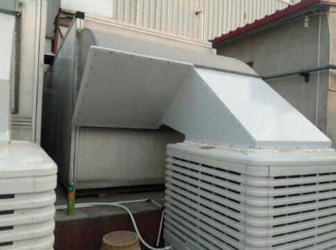 塑料厂车间降温方法