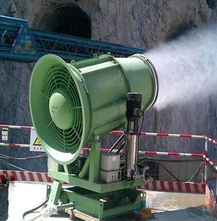 多功能洒水设备降温雾炮机
