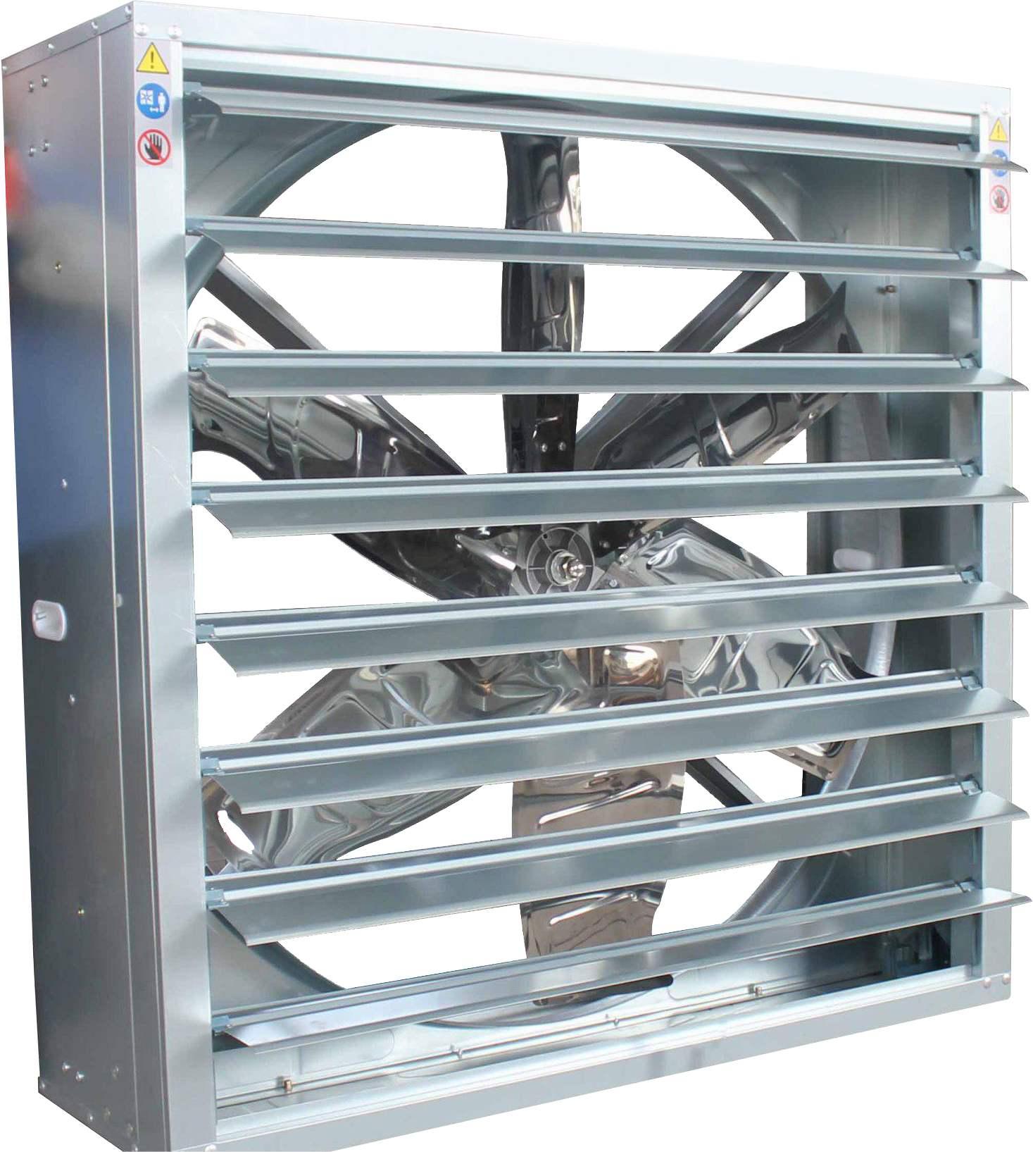 现代养殖场通风降温最佳选择-负压风机湿帘