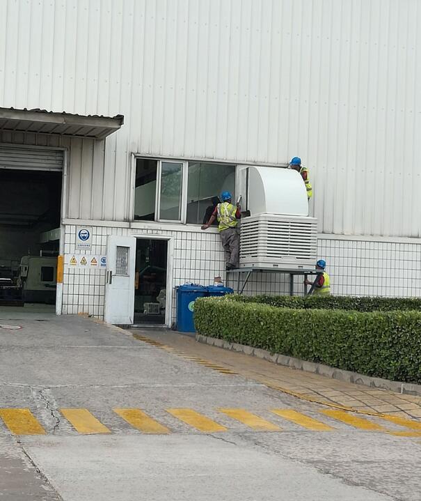 衡水电器厂车间降温设备首选湿帘冷风机