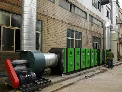 金属加工业废气处理方法