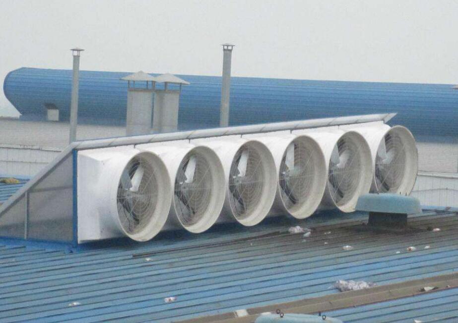 大型厂房选择降温设备负压风机需要注意哪些