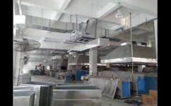 上海医疗被服洗涤公司安装环保空调降温设备案例