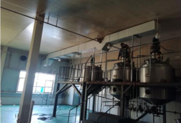 北京一车间废气处理设备施工