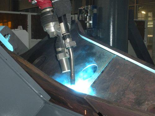 焊接切割车间除尘净化案例
