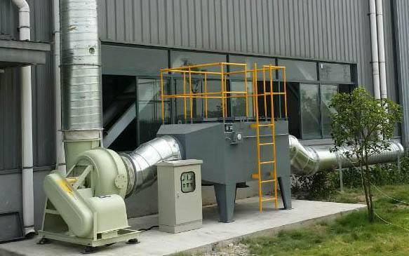 印刷厂有机废气处理