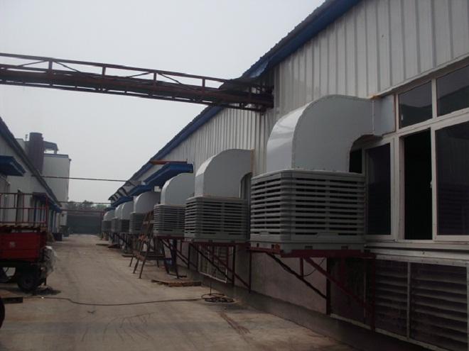 印刷厂降温用什么方法?印刷厂车间降温设备专业生产