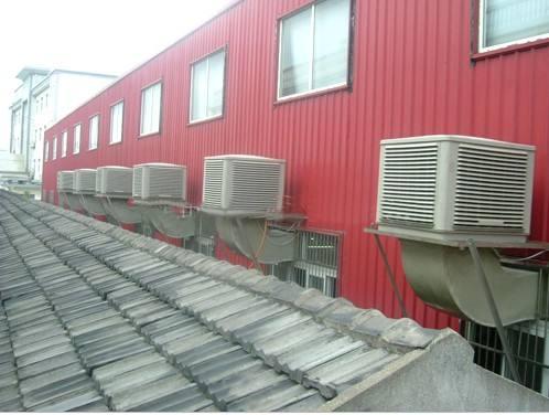 18年夏季马上到来广绿环保车间降温设备生产线全马力开启