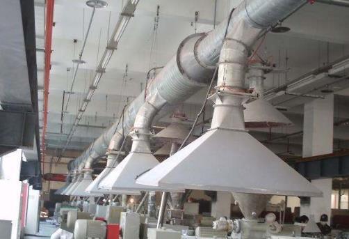 工厂车间降温和通风除味设备