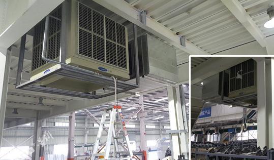 湿帘降温设备适用于五金厂降温用吗