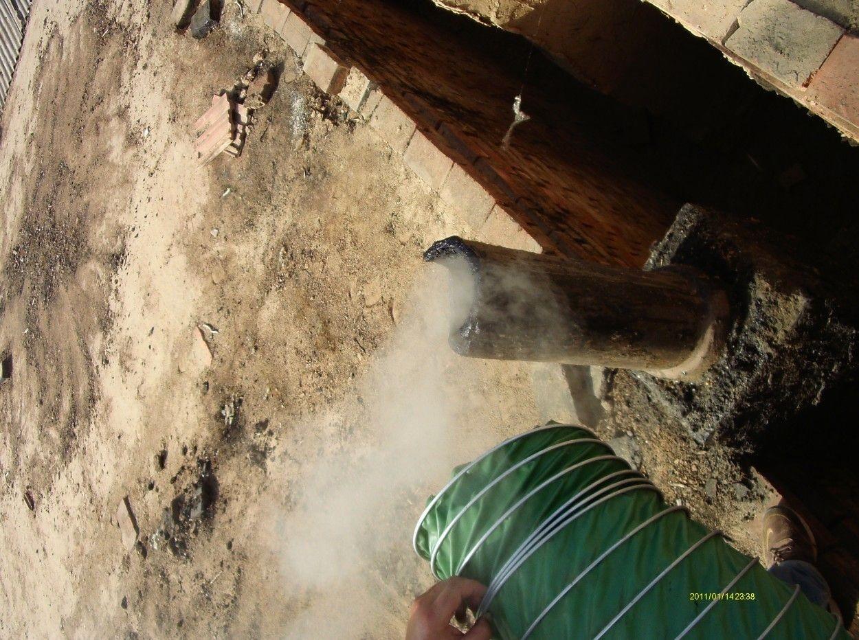 木炭厂浓烟雾净化设备